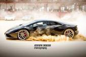 """Ngẹt thở xem màn """"đấu siêu bò"""" Lamborghini Huracan"""