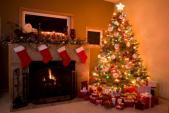 Muôn kiểu trang trí cây thông Noel đêm Giáng sinh