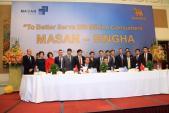 Masan và Singha thiết lập nền tảng chung trên thị trường ASEAN