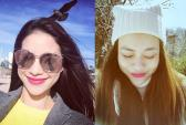 Nhan sắc cô gái được nhận xét giống cả Hà Hồ và Phạm Hương