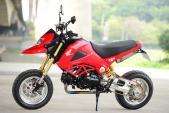 """Honda MSX 125 """"độ hết bài"""" phong cách Ducati Hyperstrada"""