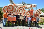 Máy bay hoa tươi nổi bật Lễ hội hoa Đà Lạt