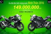 "Kawasaki Ninja 300 ABS 2016 giảm giá ""sốc"" tại VN"