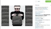 Kelbin Lei xuất hiện trên instagram của Gucci