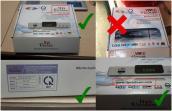 Cách phân biệt đầu thu số DVB-T2 làm nhái vỏ hộp của LTP Vietnam