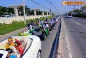 Hàng chục môtô PKL tại Sài Gòn rầm rộ