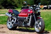 Siêu môtô dùng động cơ V10 8l từ siêu ôtô Dodge Viper