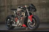"""Soi chi tiết bản độ streetfighter """"siêu ngầu"""" từ Ducati 749"""