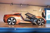 """BMW ra mắt """"siêu xe xanh"""" concept i8 Spyder tự lái"""