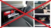 Cách đặt bình chữa cháy mini trong ôtô không gây nguy hiểm