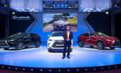 Ra mắt Lexus RX350 và RX200t- 2016 giá hơn 3 tỷ đồng