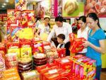 Bán kẹo Tết 2016: Hàng nội tràn kệ, giá cả ít biến động