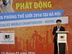 Phát động thi Vô địch Tin học Văn phòng cho học sinh Hà Nội