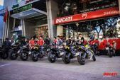 """Hàng trăm môtô phân khối lớn Ducati """"đại náo"""" Sài Gòn"""
