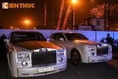 Dàn siêu xe Rolls-Royce mạ vàng biển