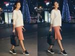 Sao Việt càng mặc đơn giản càng đẹp!