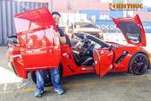 """Thiếu gia Sài thành """"đập thùng"""" Corvette Z06 giá 7 tỷ đồng"""