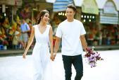 Cặp đôi siêu mẫu khoe ảnh cưới lãng mạn