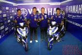 Chi tiết xe ga thể thao Aerox 125 giá 26 triệu của Yamaha