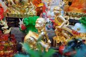 Quà Tết 2016: Khỉ phong thủy mạ vàng phú quý, tài lộc