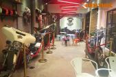 """Quán cafe với dàn môtô PKL """"khủng"""", độc nhất Việt Nam"""