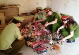 Cẩn trọng với bánh kẹo Trung Quốc lậu tràn vào Việt Nam dịp Tết nguyên đán
