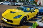 Siêu xe Corvette Z06 mui trần đầu tiên tại Việt Nam