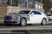 Xe siêu sang Rolls-Royce Wraith mới trên đường chạy thử