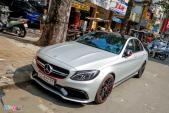 Mercedes C63 AMG giá 4,6 tỷ đầu tiên tại Việt Nam