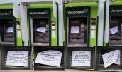 Hàng loạt cây ATM của Vietcombank, Agribank, BIDV