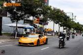 """Xem """"siêu bò"""" Lamborghini Huracan diễn tại Đà Thành"""