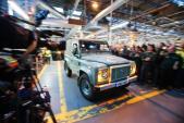 Chiếc Land Rover Defender cuối cùng sau 68 năm