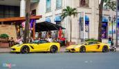 Dàn siêu xe của đại gia Sài Gòn đi chơi Tết Bính Thân