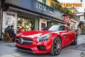"""Mercedes-AMG GTS 9,15 tỷ """"xông đất"""" Hà Nội"""