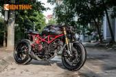 """Ducati Monster độ Cafe Racer """"hàng độc"""" tại Hà Nội"""