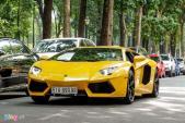 Cả dàn siêu xe Lamborghini