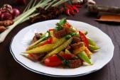 Cật heo xào chua ngọt - món ăn giàu dinh dưỡng, dễ chế biến