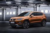 SEAT SUV Ateca sẽ trình làng tại Geneva Motor Show 2016