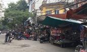 Chợ Trời ở Hà Nội vắng lặng sau ngày bị kiểm tra