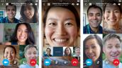 Skype phổ biến tính năng gọi video nhóm trên Android, iOS