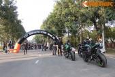 Dân chơi môtô phía Bắc rầm rộ show