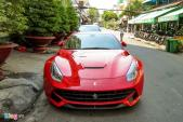 Siêu xe Ferrari F12 đầu tiên tại Việt Nam xuất hiện ở TP HCM