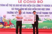 Hoạt động lái xe an toàn của Honda Việt Nam năm 2015