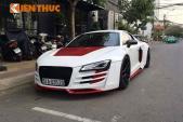 Siêu xe Audi R8 độ thân vỏ giá hơn 600 triệu tại Sài Gòn