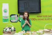 Đan Lê trẻ trung tại sự kiện giới thiệu nấm U-cha