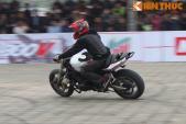 """Biker ViettuanGC """"đốt cháy"""" sàn diễn môtô PKL tại Hà Nội"""