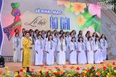 Đoan Trang, Trương Thị May rực rỡ trong Lễ khai mạc Lễ hội áo dài