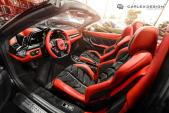 Siêu xe Ferrari 458 Spider có nội thất ấn tượng