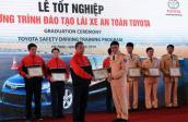 Toyota giúp đào đạo giảng viên lái xe an toàn