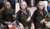 Dân mạng xôn xao vì tóc của cụ bà bán rong ở Hà Nội